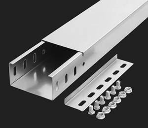 电缆桥架厂家:槽式桥架和梯式桥架的区别